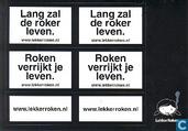 """B060084 - KWF Kankerbestrijding """"Lang zal de roker leven."""""""