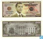 OBAMA 2008 note fédéral