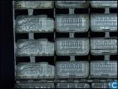 Mallen en matrijzen - Chocoladevormen - lokomotief met wagons