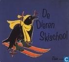 De dieren skischool