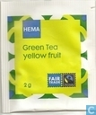 Green Tea yellow fruit