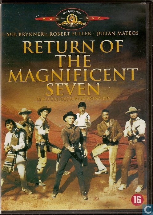 return of the magnificent seven dvd catawiki