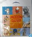 8 strips Modern Papier