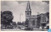 Markt met Ned. Herv. Kerk Enschede