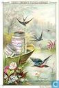 Blumen und Vögel