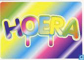 """B030163 - Boomerang 10 jaar """"Hoera"""""""