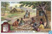 Kinderspel en poppen in verschillende landen