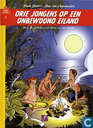 Strips - Bob Evers - Drie jongens op een onbewoond eiland