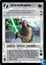 Qui-Gon Jinn With Lightsaber