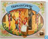 Hans en Grietje, een flap-uit boek