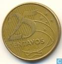 Brasil 25 centavos 2003