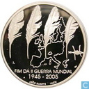 "Portugal 8 euro 2005 (PROOF) ""60th anniversary of the end of World War II"""