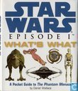 Star Wars Episode I What's What