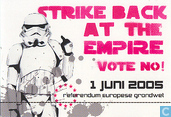 "B050139 - Grondwet nee! Festival ""Strike back at the empire Vote no!"""