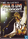 Paul is live in concert