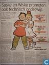 Suske en Wiske promoten ook technisch onderwijs
