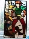 Brandglas-schilderij