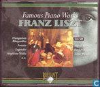 Famous Piano Works Franz Liszt