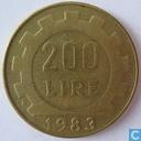 Italië 200 lire 1983