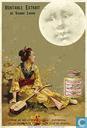 Mond und Japanerin