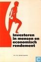 Investeren in mensen en economisch rendement