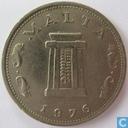 Malta 5 cents 1976