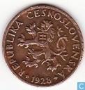 Tchécoslovaquie 5 haleru 1928