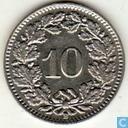 Coins - Switzerland - Switzerland 10 rappen 1988