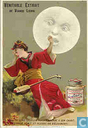 Japanese Moon girl  Geisha girl
