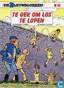 Bandes dessinées - Tuniques Bleues, Les [Lambil] - Te gek om los te lopen