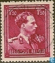 King Leopold III with 'V'