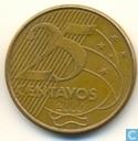 Brasil 25 centavos 2006