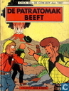 Comic Books - Chick Bill - De Patratomak beeft