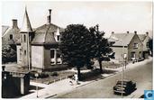 Valkenburg (Z.H.) Hoofdstraat met Gemeente-huis