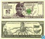 Bankbiljetten - Obama - BARACKTOPUS OBAMA BUCKS