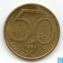 Autriche 50 groschen 1990