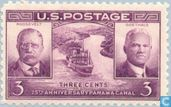 25th anniversary Panama Canal {Roosevelt & Goethals}