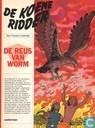 Strips - Koene Ridder, De - De reus van Worm