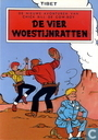 Comic Books - Chick Bill - De vier woestijnratten
