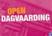 """B060052 - Open dag van de Rechtspraak """"Open dagvaarding"""""""
