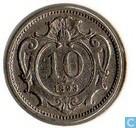 Oostenrijk 10 heller 1893