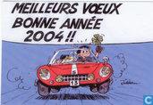 Kerstkaart 2004 - Carte de Voeux 2004 Jidéhem