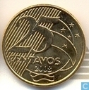Brésil 25 centavos 2008