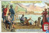 storia della macchina a vapore