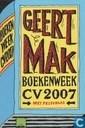 Geert Mak boekenweek CV 2007