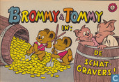 Comic Books - Brommy & Tommy - De schatgravers!