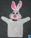 Poppenkast konijn