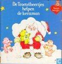 De troetelbeertjes helpen de kerstman