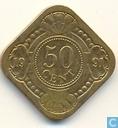 Netherlands Antilles 50 cents 1991