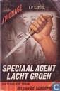 Speciaal agent lacht groen